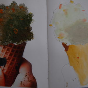 Year 5 Food Project Pistachio ice-cream pulp sculpture