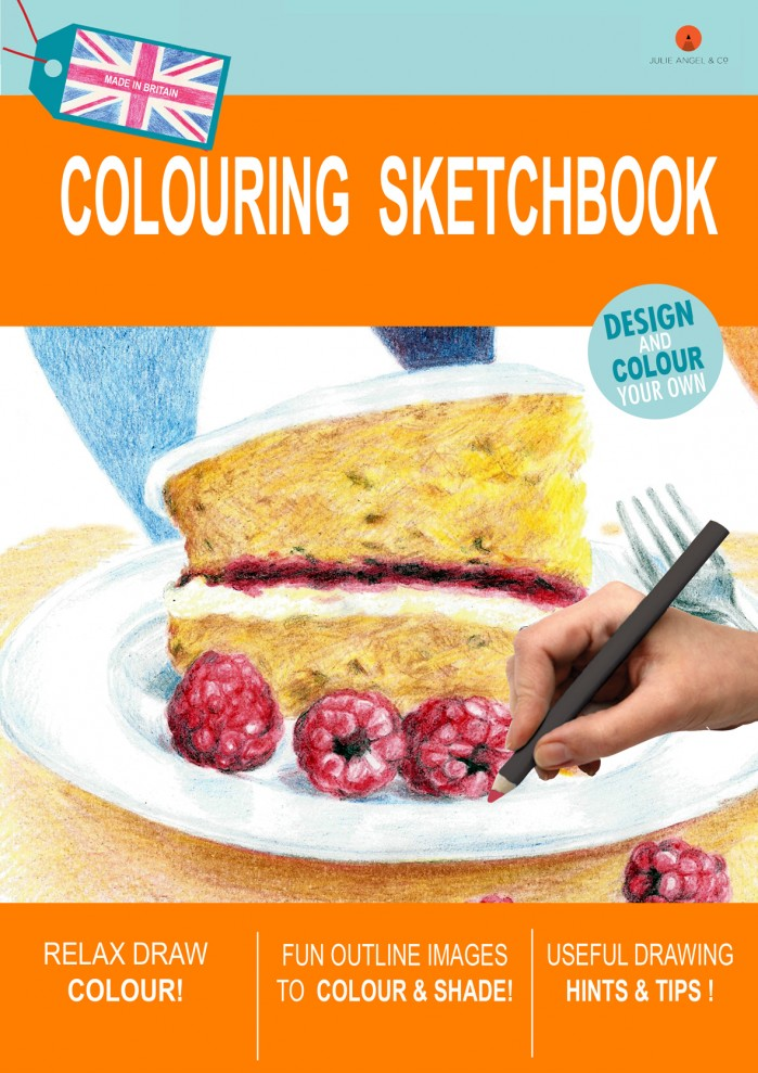 New sketchbook orange small