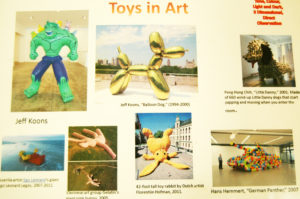 Toys in Art project Yr3 Slide