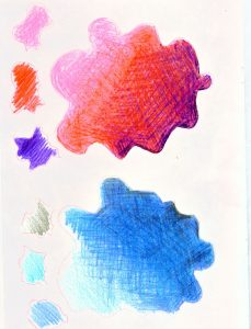 Colour pencil practice Yr4 Teach Your Class to Draw www.teachyourclasstodraw.com